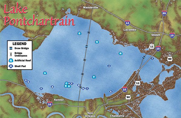 lake pontchartrain bridge map Mapping The Bowl lake pontchartrain bridge map
