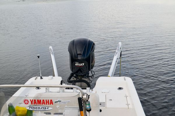 Stevie Nick says it is a must for a sight fisherman's boat to be equipped with two shallow water anchors.