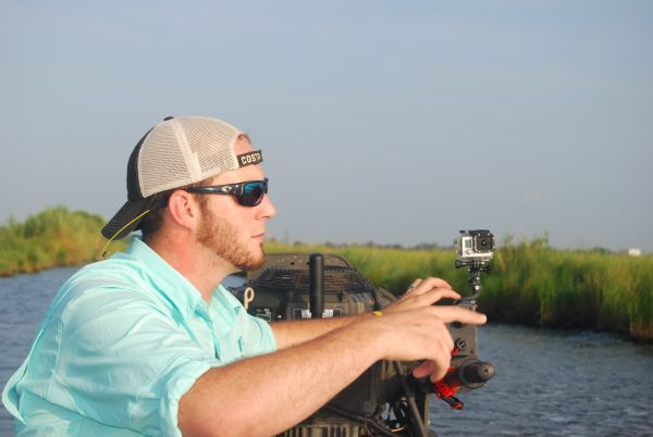 Under the watchful eye of his GoPro camera, Marcel has to make quick decisions in the marsh to successfully catch his redfish limit.