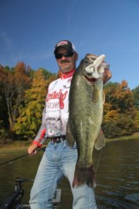 Dense grass beds offer a viable option to chasing bass into creeks.