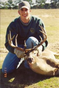 While not a B&C trophy, this quality buck is an example of a deer management program working correctly.