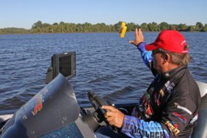 Marking bait pods and key structure will help you stay on the fish in late fall.