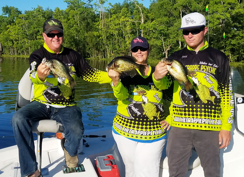 Catching post-spawn crappie is a matter of pulling out of extremely shallow water, finding deeper water with cover, and approaching likely spots quietly to avoid spooking them.