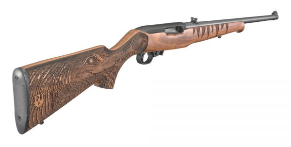 Ruger 10/22 22lr man`s best friend special edition rimfire rifle.