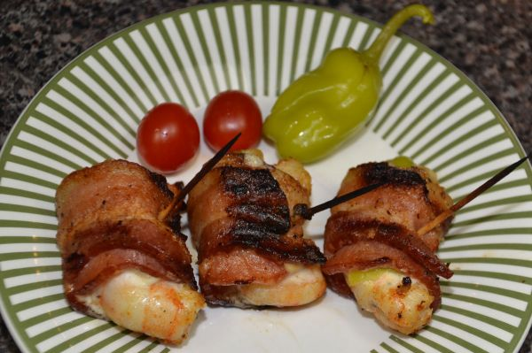 Bacon Shrimp Wraps go quickly after coming off the grill so if you snooze, you lose.