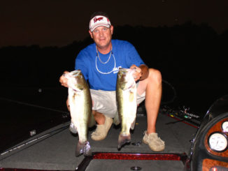 Nighttime fishing is the best bet to catch big fish when summertime temperatures take hold.