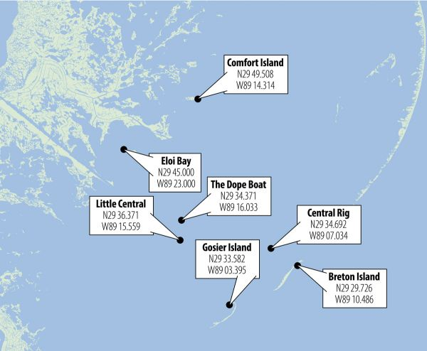 Speckled Trout Fishing Hotspots Mapped Out