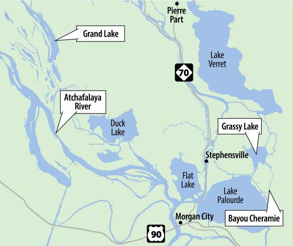 lake verret fishing map Expert Bass Fishing Tips For Fall Atchafalaya Basin Bass Fishing lake verret fishing map