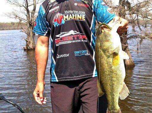 Hit The Cypress Trees For Big Caddo Lake Bass
