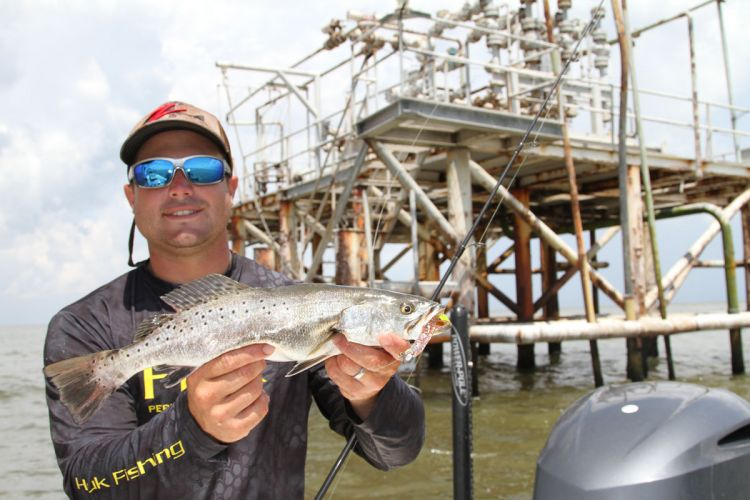 Approach rigs quietly and with care; trout can be ultra-wary, especially those on the larger side.