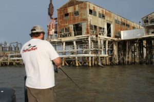 Larger structures offer more to fish, but might also see more pressure from fishermen.