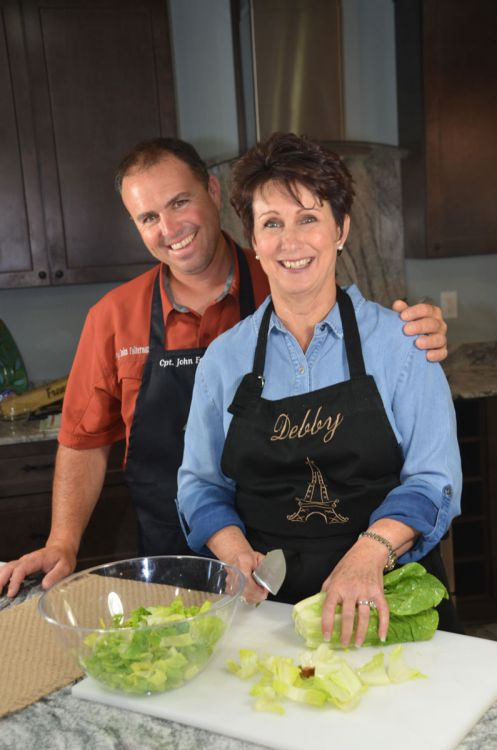John Falterman Jr. gives his mom Debbie partial credit for his love of good food and cooking.