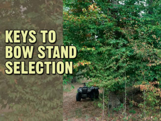 Keys to bow stand selection