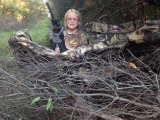 Concealment is key when selecting and brushing a ground blind in the deer woods.