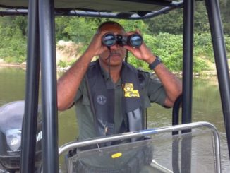A game warden might have been watching you in the field long before he approaches, so honesty is the best policy.