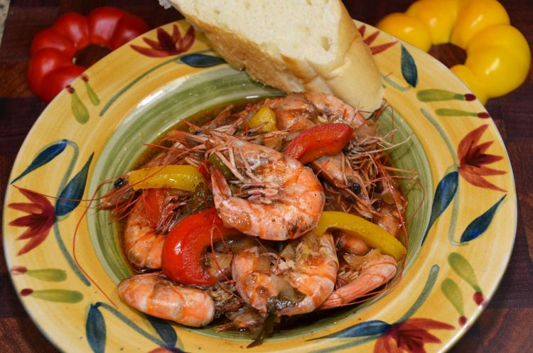 Balsamic Shrimp has a distinct sweet tang from the honey and the balsamic vinegar, but there is no sour component in its taste profile.