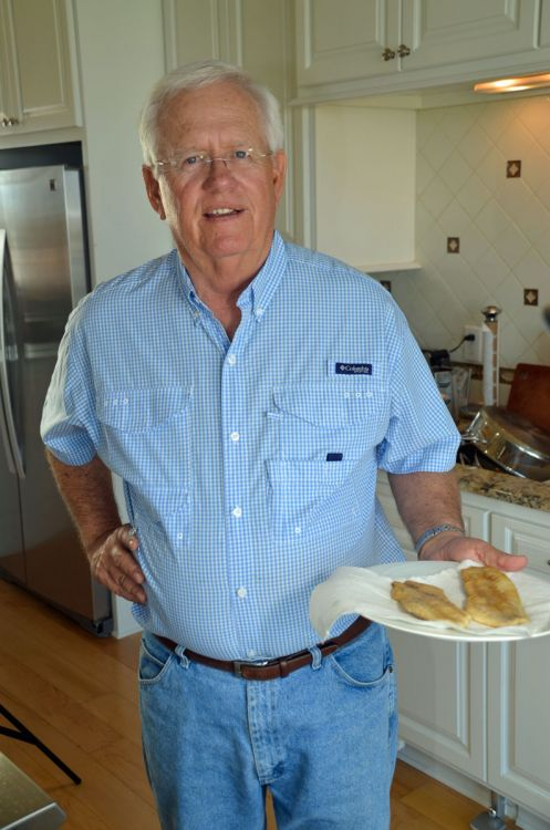 Dr. Bob Weiss is as much a perfectionist in the kitchen as he is on the water.