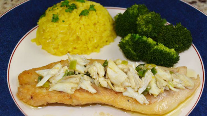 In spite of the simplicity of the dish, Treasure Island Trout has a polished and urbane taste.