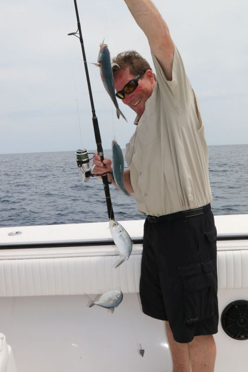 How to rig up and catch king mackerel out of Venice