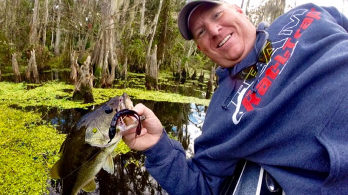 Bass fishing can be phenomenal this time of year on the West Pearl River, according to Jason Pittman.