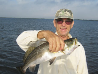 Gordon Matherne said keeper specks should be plentiful this month near the Sulfur Mine.
