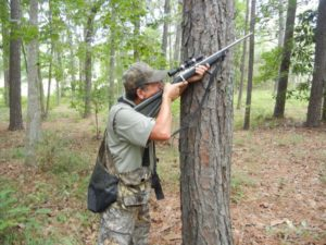 The author enjoys hunting squirrels with a .22 — it's great rifle practice in anticipation of deer season.