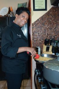 Cooking became a second career for Chef Tootie after rearing her children and then graduating from culinary school at age 35.