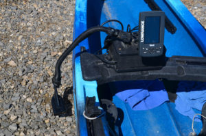 Portable depth finders specifically made for mounting on kayaks are a valuable tool.