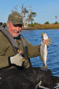 Although this fish won't make the books, Ted Tedesco has placed 25 fish in the state records.