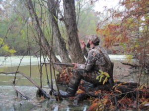 Mother Nature will tell you how much you should call. On clear, cloudless days you can be more aggressive, while on cloudier days the ducks might be more finicky.