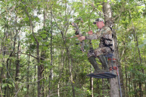 Curtis Simpson sets up on deer as close to bedding areas as possible to improve his chances of seeing a trophy during daylight hours.