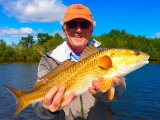 Soft plastics and spinnerbaits are both effective if you're targeting redfish out of Lafitte this month, according to Capt. Theophile Bourgeois.