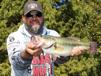 When post-frontal conditions put the bass in a funky mood, smaller and slower are helpful strategies.