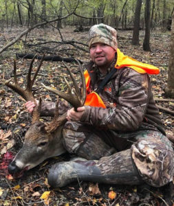 Cody Culpepper shot this giant 13-point Caldwell Parish buck on Boeuf WMA on Nov. 23. The big deer green-scored just more than 184 inches of bone.