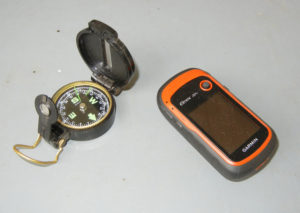 A compass or Garmin eTrex20 are ideal gifts sure to help a hunter find his way to a favorite hunting spot.