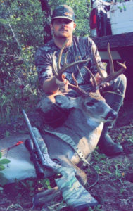 Kenneth Miller dropped this big Sabine Parish 10-pointer that green-scored 154 inches on Friday, Oct. 26.