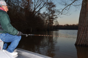 Murphy Royer likes to be on the water fishing at the crack of dawn, even in the depths of winter.