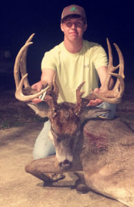 This 185-inch Catahoula Parish buck was killed by Jacob Cater on Dec. 22.