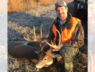Brent Smart, of Mangham, shot this big RIchland Parish 11-point on Dec. 6.