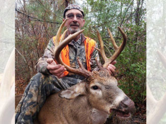 Larry Louviere, of Breaux Bridge, made the long drive up to Bienville Parish pay off when he knocked off a big 10-point on Dec. 15.