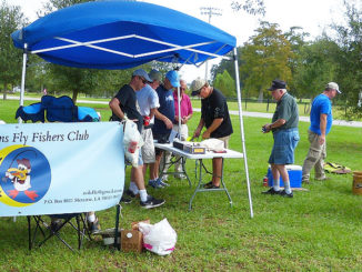 The Rio Grande Fly Fishing Rodeo enjoyed another strong turnout, one of many accolades for the New Orleans Fly Fishers club in 2018.