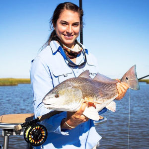 Sarah Giles of Mandeville, one of the state's top flyfishers and top female kayak anglers, had an epic year on the water.
