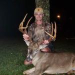 Keith Suire shot this big Beauregard Parish 10-pointer on Nov. 7. The buck green-scored north of 150 inches.