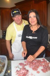 Christian and Colleen Orfanello create original, unique dishes.
