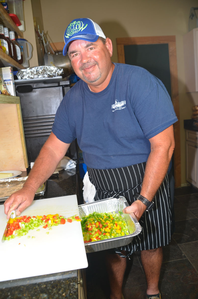David Rouse's personal love of cooking received the benefit of professional training in culinary school.
