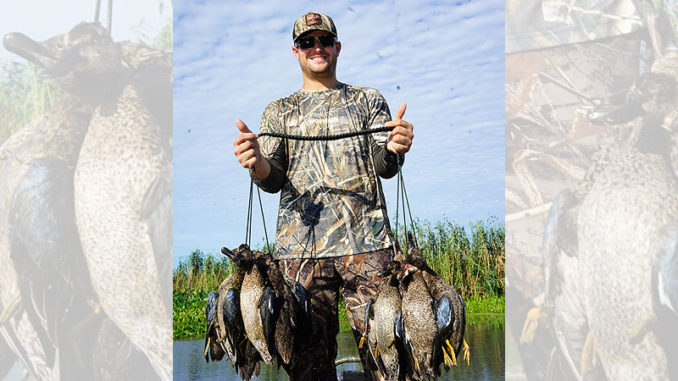 Louisiana duck hunters could be looking at a four-teal limit next September, if a proposal made at January's meeting of the Wildlife and Fisheries Commission is ultimately approved in April.