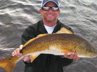 Capt. Chad Dufrene expects the redfish bite to remain consistent out of Delacroix - if Mother Nature cooperates.