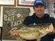 Clint Wade shows off the 10.84-pound lunker largemouth he caught on a V&M swim jig up at Toledo Bend on Jan. 12.