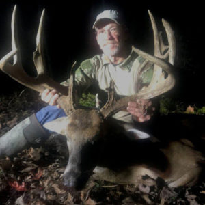 Mike Jones, of Denham Springs, downed this big West Feliciana Parish 11-pointer on Christmas Day.