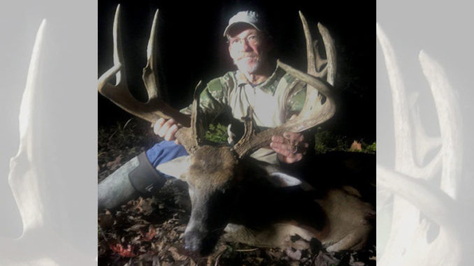 Mike Jones downed this big West Feliciana Parish buck on Christmas Day.